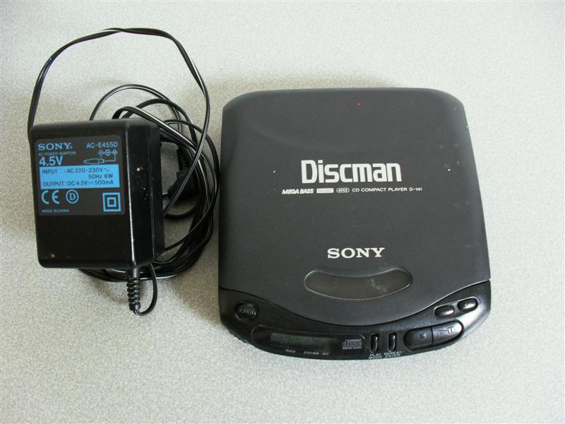 photo lecteur de cd portable discam de sony en etat de m. Black Bedroom Furniture Sets. Home Design Ideas