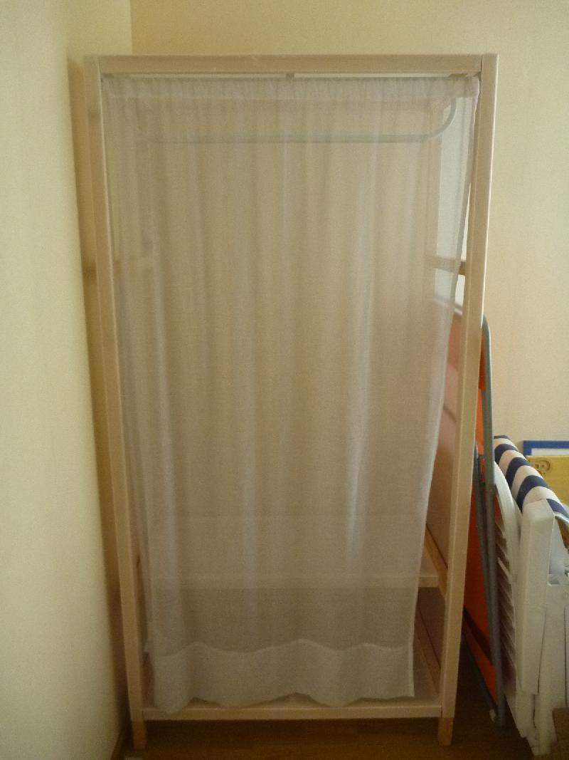 Penderie avec rideau maison design - Penderie avec rideau ...