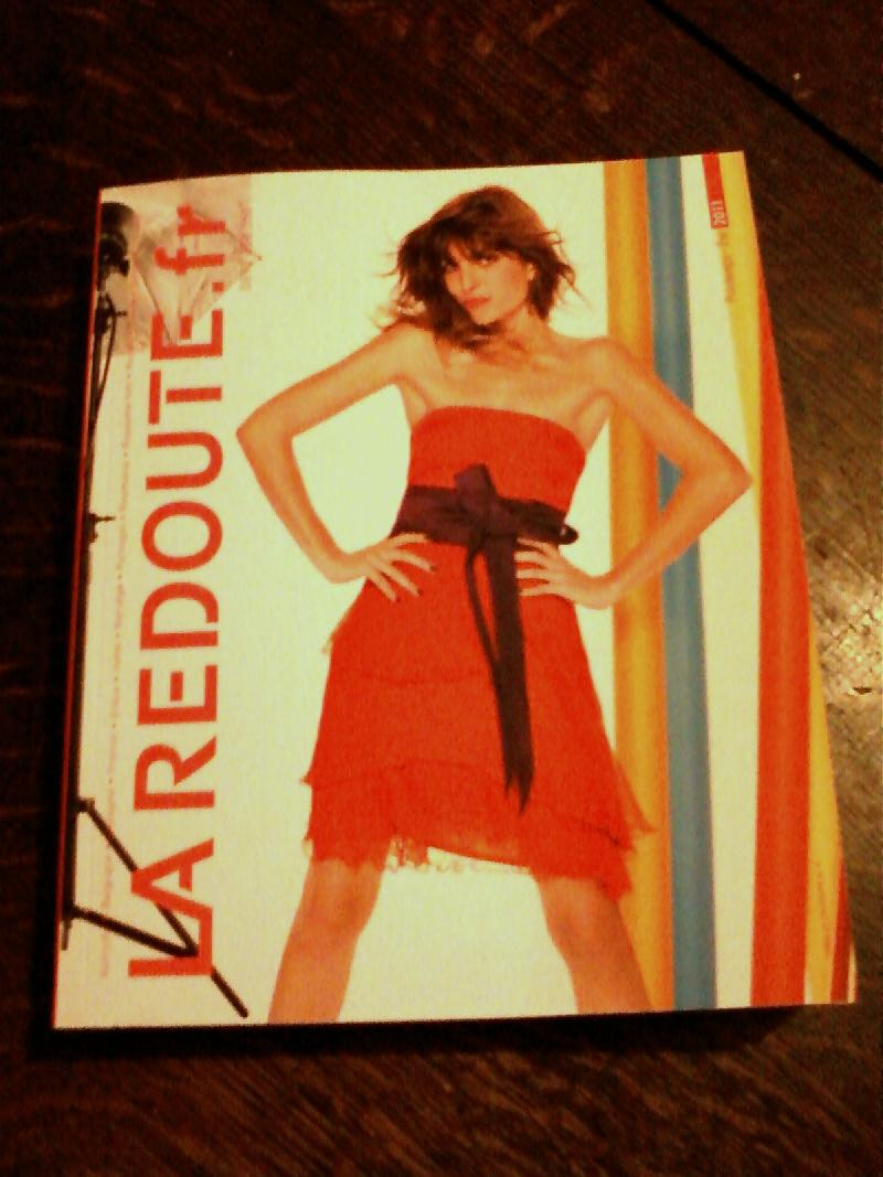Photo catalogue la redoute printemps t 2011 re u au - La redoute catalogue blanc ...