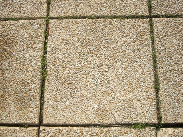 Dalles gravillonn es 55m avec briquettes morainvilliers - Dalles 40x40 gravillonnees ...