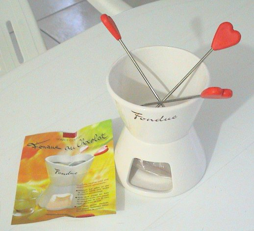  Mini appareil  fondue au