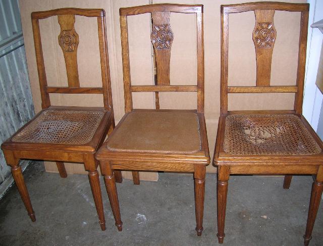 chaises anciennes donner marles les mines. Black Bedroom Furniture Sets. Home Design Ideas