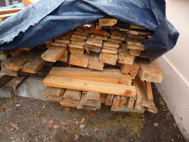 bois de récupération à donner à pessac alouette