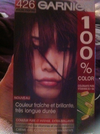 donne une coloration - Coloration Violine