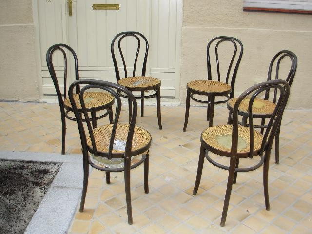 Chaises bistrot donner bordeaux for Chaise de bistrot en bois