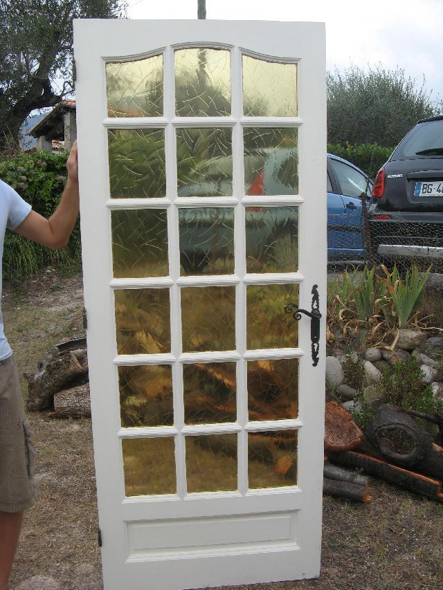 Photo Donne Deux Portes D 39 Int Rieur Vitr Es Venir Cher