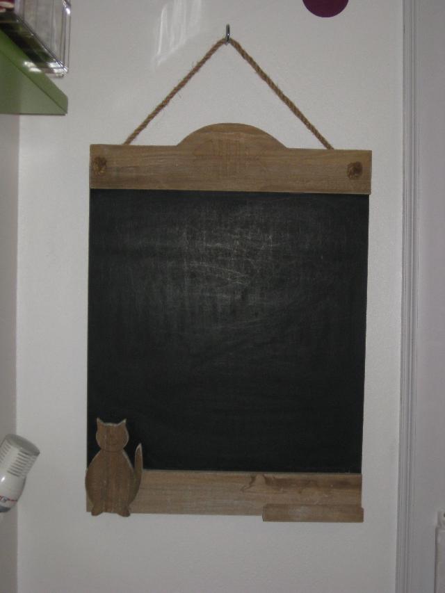 Tableau noir de cuisine donner mons en baroeul - Tableau ardoise deco cuisine ...