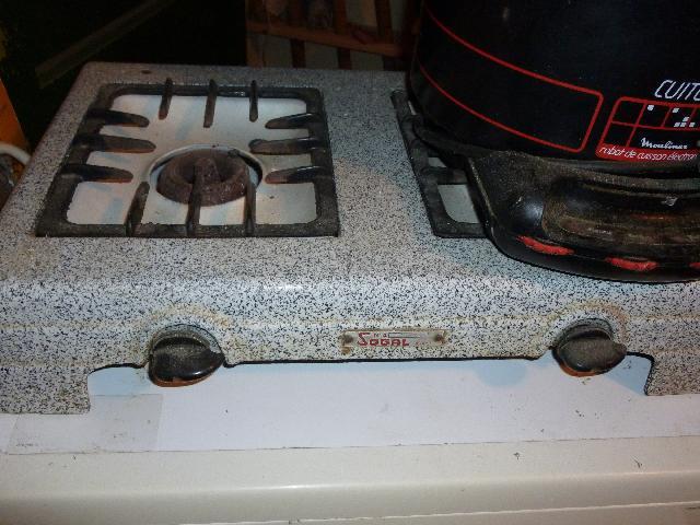 Photo plaque de cuisson 2 feux gaz ancienne plaque de c - Plaque de cuisson gaz 2 feux ...