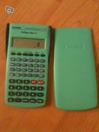 1 Calculatrice Casio Coll�ge New