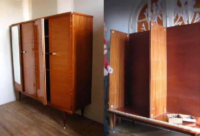 Photo armoire etageres