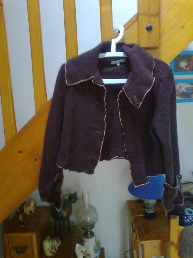 veste marron Jacqueline