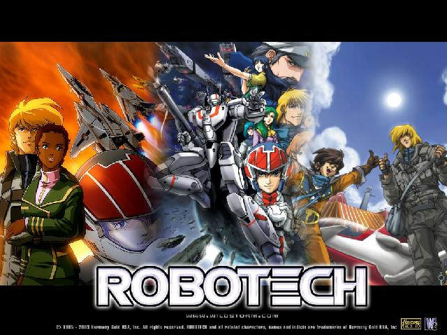 24 K7 vidos l'intgrale de Robotech en 3 coffrets