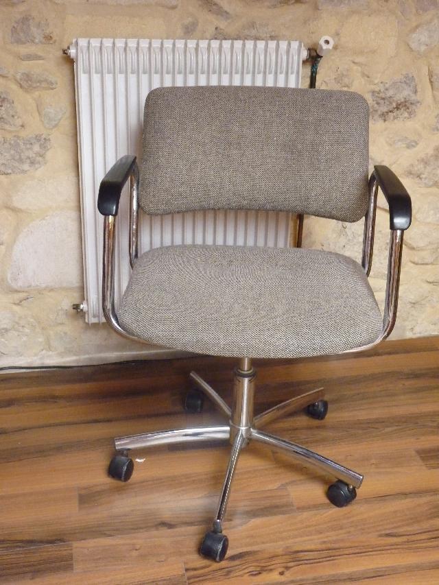 chaise bureau donner paillet. Black Bedroom Furniture Sets. Home Design Ideas