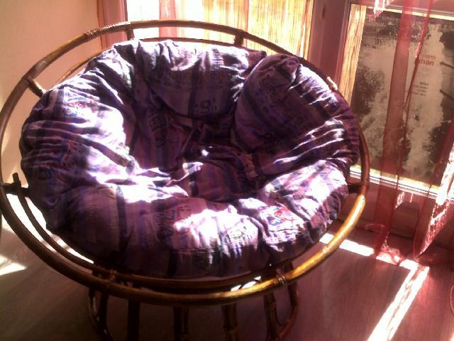 fauteuil loveuse affordable coussin rond pour loveuse galerie avec fauteuil papasan en rotin. Black Bedroom Furniture Sets. Home Design Ideas
