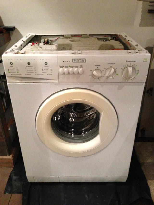 Une ancienne machine a laver pictures to pin on pinterest - Mini machine a laver le linge ...