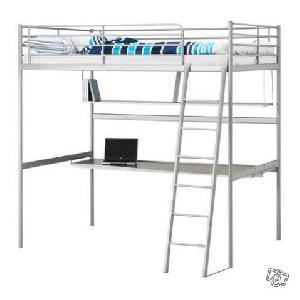 Lit mezzanine donner chaponost - Bed kind met mezzanine kantoor ...