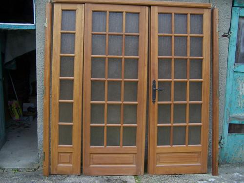 Portes int rieures vitr es donner le mesnil saint denis for Les portes interieures