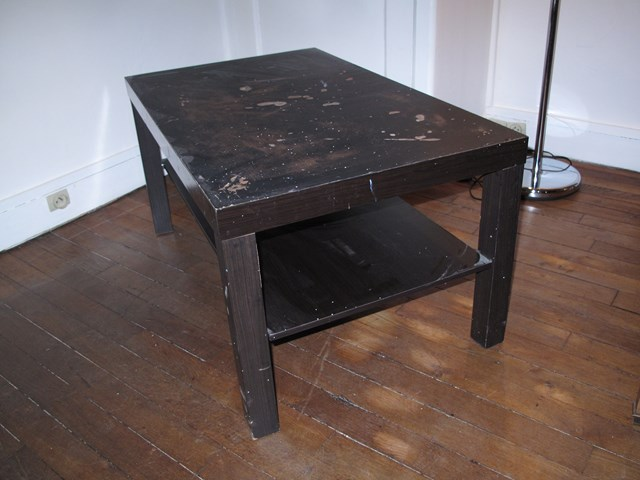 Table basse ik a lack donner paris 19 - Ikea table basse lack ...