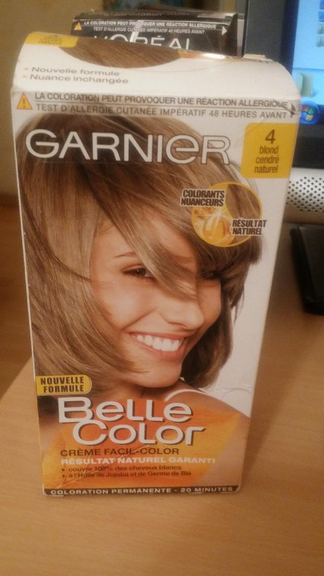 Photo Coloration Belle Color Garnier