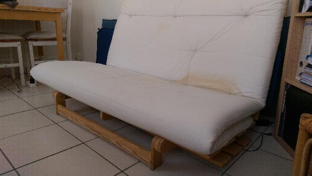 Photo canape futon - Canape convertible 1 personne ...