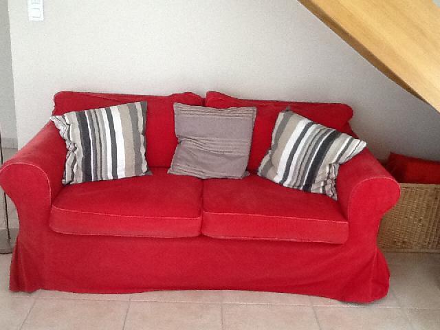 housse de canapé 2 places rouge Photo canape housse de canapé 2 places rouge
