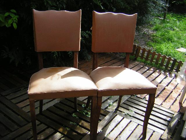 chaises donner baon. Black Bedroom Furniture Sets. Home Design Ideas