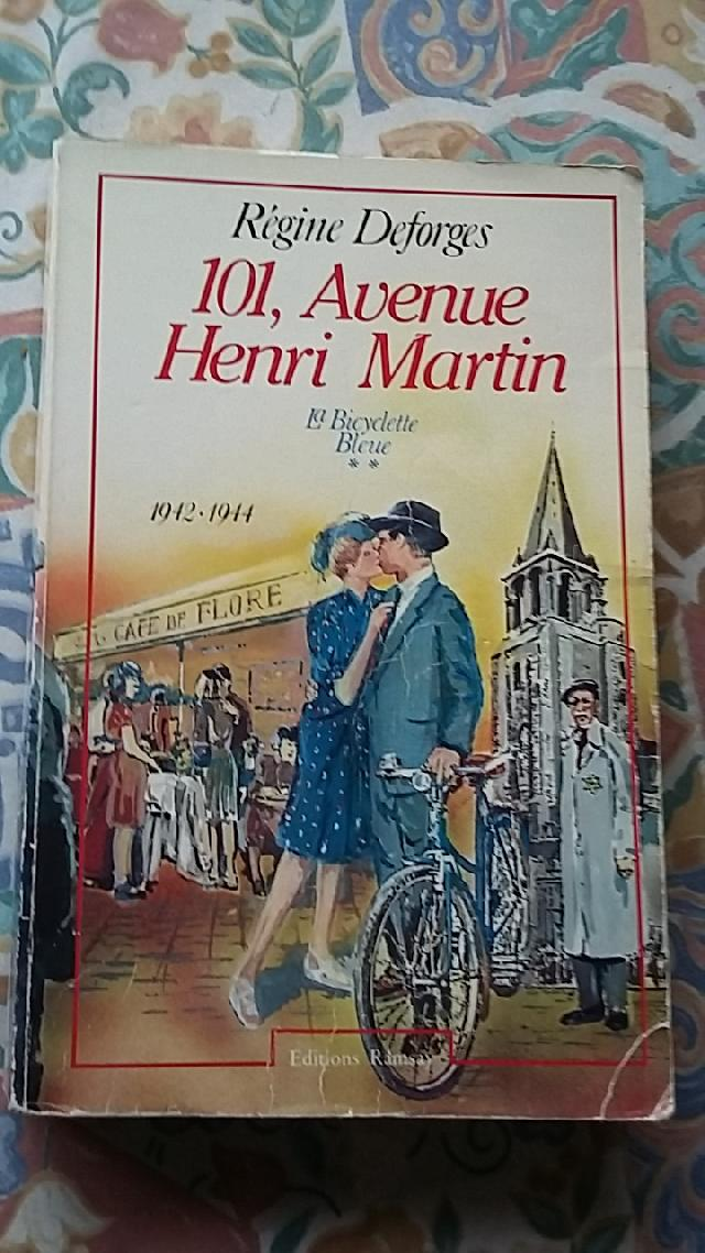 livre 101 avenue henri martin 1942 1944 donner paris 19 me. Black Bedroom Furniture Sets. Home Design Ideas