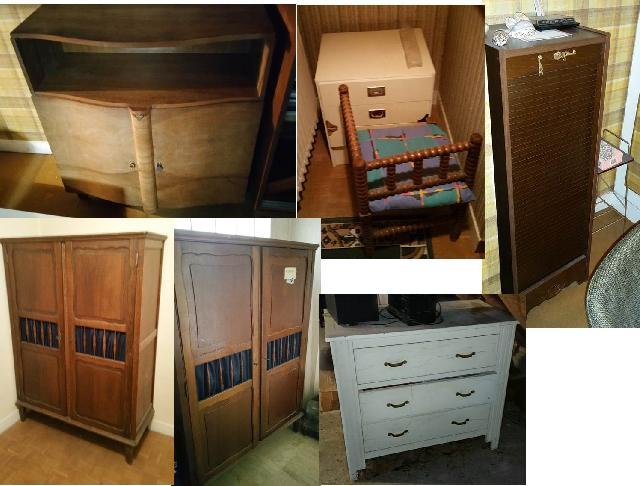 photo table de nuit meubles. Black Bedroom Furniture Sets. Home Design Ideas