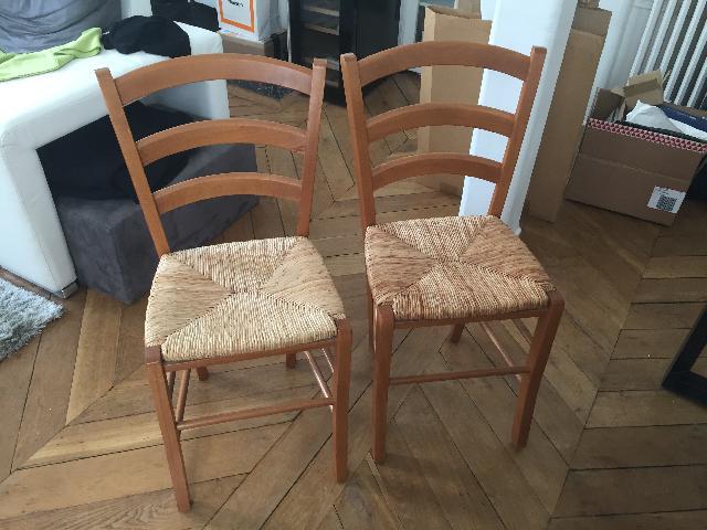 chaises donner paris. Black Bedroom Furniture Sets. Home Design Ideas