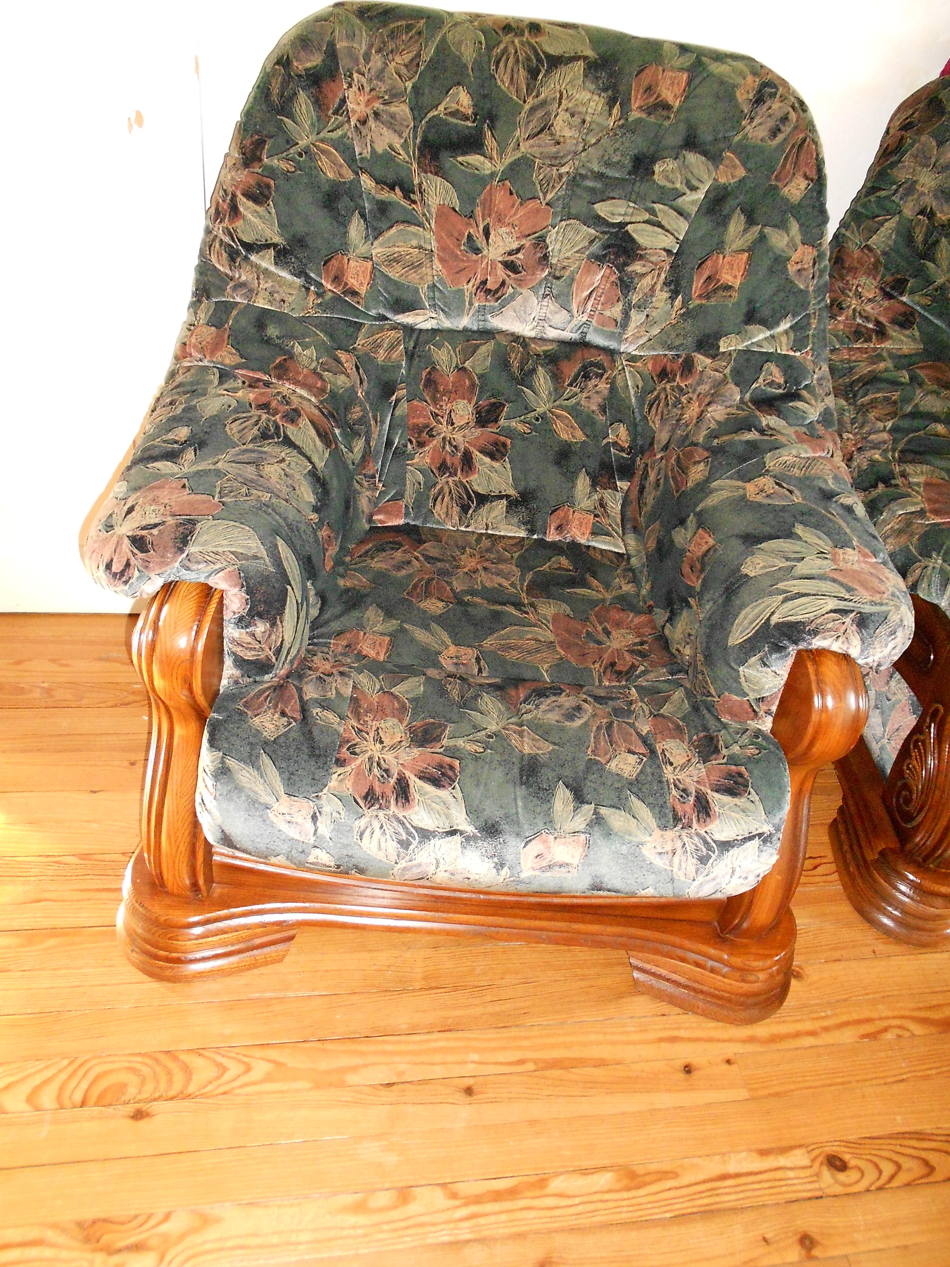Photo canape fauteuils for Canape et deux fauteuils