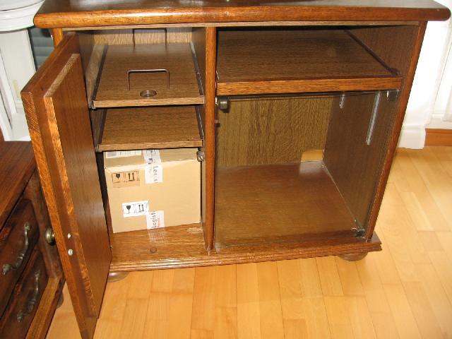Photo meuble tv - Meuble tv avec plateau tournant ...