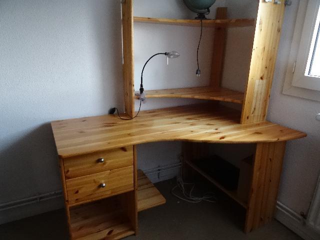 bureau d angle en pin homeezy. Black Bedroom Furniture Sets. Home Design Ideas