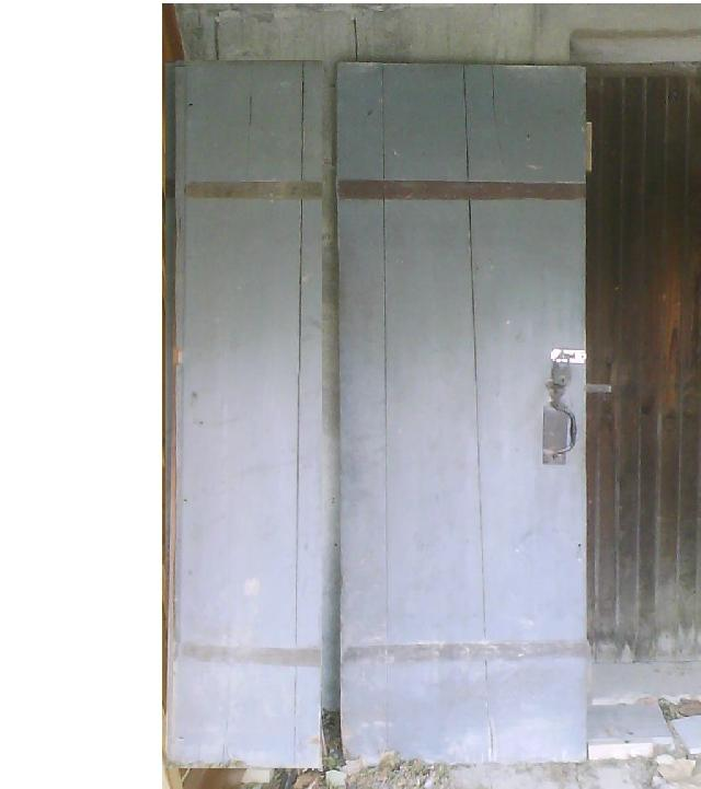 Photo double porte int rieure for Porte double interieure