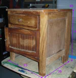 meuble donner pleubian. Black Bedroom Furniture Sets. Home Design Ideas