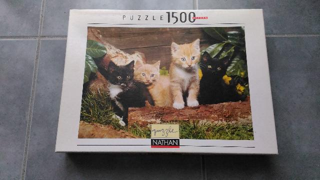 animaux puzzle chat