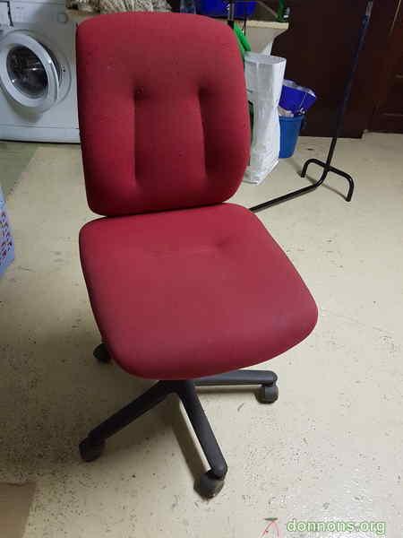 chaise de bureau donner gattieres. Black Bedroom Furniture Sets. Home Design Ideas