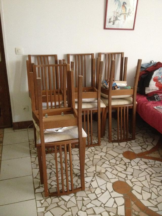 chaises donner roquemaure. Black Bedroom Furniture Sets. Home Design Ideas