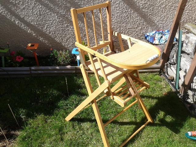 chaise haute donner bessancourt. Black Bedroom Furniture Sets. Home Design Ideas