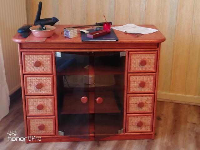 photo meuble tele. Black Bedroom Furniture Sets. Home Design Ideas