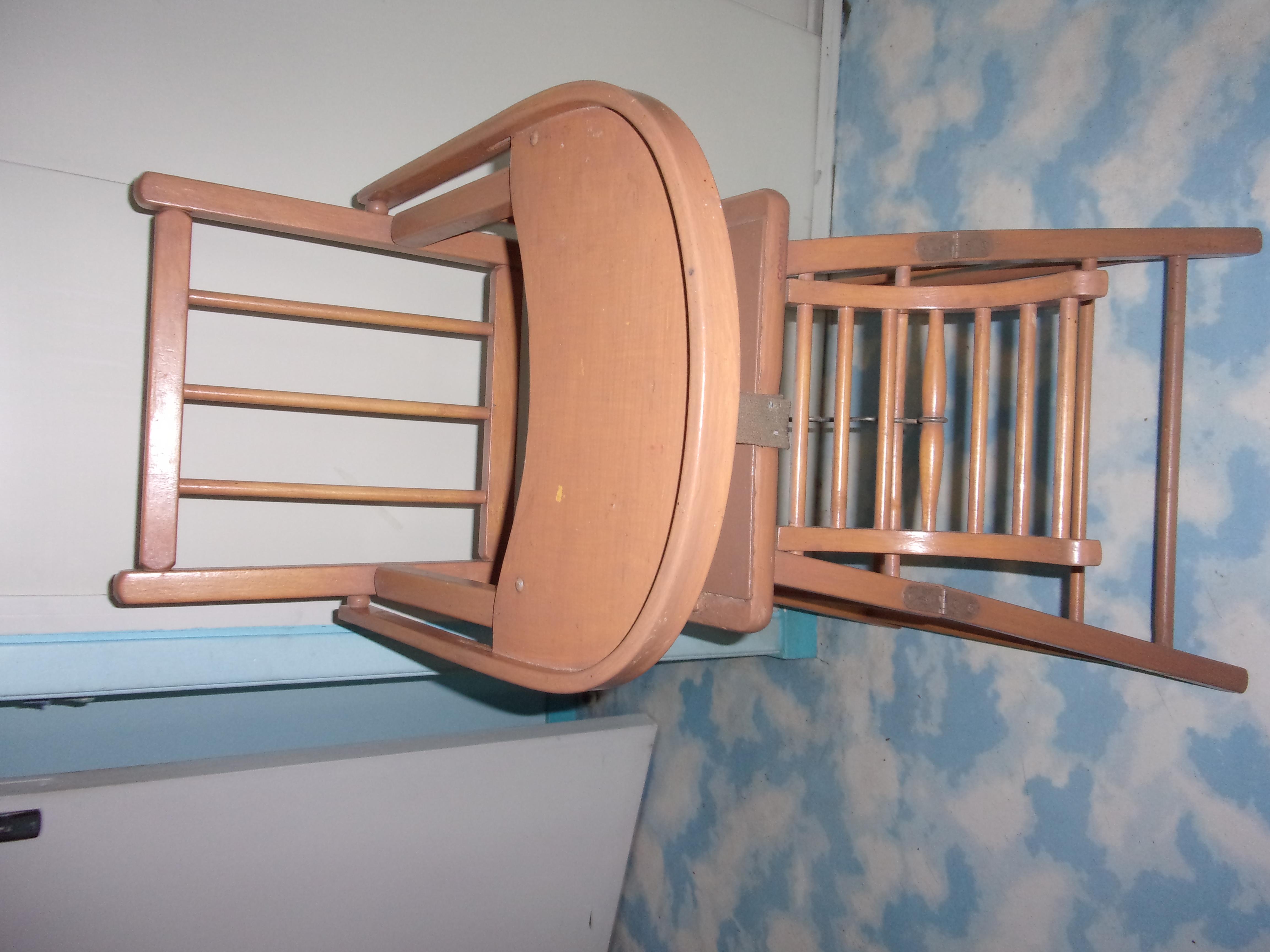 Photo chaise haute